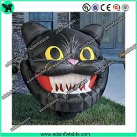 China Inflatable Cat Mascot, Inflatable Cat Head, Evil Inflatable Cat wholesale