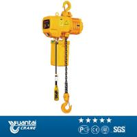 China Yuantai 2t monorail traveling electric chain hoist for sell on sale