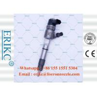 China ERIKC  0 445 110 383 genuine common rail injector bosch 0445110383 fuel truck inyectores 0445 110 383 for ChaoChai wholesale