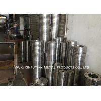 China ASTM 316 Mirror Finish Stainless Steel Pipe Flanges Multiple Color Customized Design wholesale