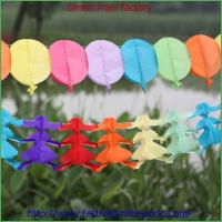 China colorful tissue paper balloon garlands wholesale