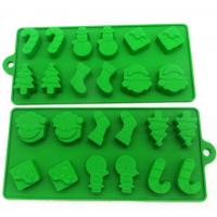 Quality Christmas Cool Ice Cube Trays Food Safe Material Non Harmful Storage Container for sale