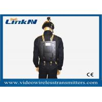 China Long Distance lightweight Wireless Video Transmitter And Receiver For Body Worn Application wholesale