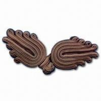 China Popular Frog Button for Coat or Garment, Wing-shape, Available in Various Styles wholesale