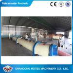 China Wood chips Rotary Drum Dryer Drying Machine GHG 2.2*12  1.2 t/h wholesale