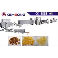 China Sweet Corn Processing Equipment , Breakfast Cereal Making Machine Low Energy Consumption on sale