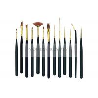 China 13Pcs Mini Body Art Brushes Watercolour Paint Brushes Collection With Premium Synthetic Sable Hair wholesale