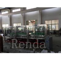 China Automated Glass Bottle Wine Filling Machine High Capacity CE Certification wholesale