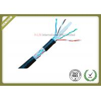 China 8 Conductors Network Fiber Cable , Cat6 SFTP Cable With 0.58mm Diameter Pass Fluke Test wholesale