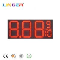 China 16 Inch Led Digital Natural Gas Price Sign Pylon Billboard for Outside wholesale