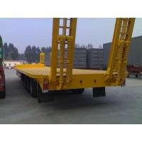China Payload Low Bed Semi Trailer Trucks 40T Optional For Transport Customized wholesale