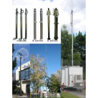China 12m Pneumatic Telescopic Mast Telecommunication Tower on sale