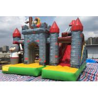 China PVC 0.55mm Commercial Kids Inflatable Bouncer Combo Jumping House With Slide on sale