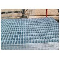 China Thick Coating Square Flat Galvanized Sheets , Welded Wire Mesh Panels 1 X 2 wholesale