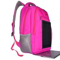 China 3.5W Nylon Backpacking Solar Charger , 6V Womens Backpack With Built In Charger wholesale