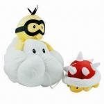 China Mario Jugemu Plush Series Doll, Soft and Stuffed wholesale