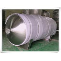 China Food Grade Stainless Steel Compressed Air Holding Tank , Stainless Steel Storage Tanks wholesale