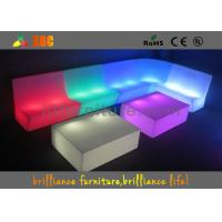 China Waterproof Bar And Club Illuminated Sofa With Lithium Battery UL & CE wholesale
