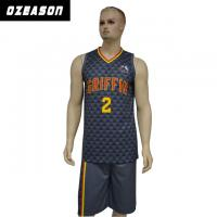 China 2018 Custom Design Dri Fit Reversible 100% Polyester Basketball Jersey wholesale