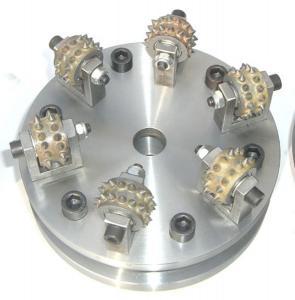 China China sharpening diamond bush hammer plate for granite on sale