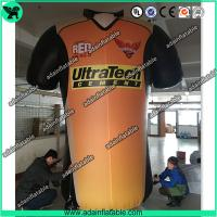 China Cloth Promotion Inflatable T-Shirt Model/ Advertising Inflatable Cloth Replica wholesale