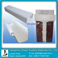 China 2015 Hotsale China Best Vinyl Rain Gutter System For Plastic rain water collector system wholesale