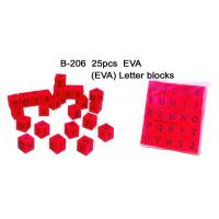 China Educational Toy, Alphabet Blocks, EVA Letter Blocks (B-206) wholesale