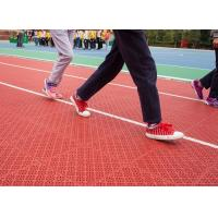 China Durable Indoor Running Track Flooring , Synthetic Track Floor For Running wholesale