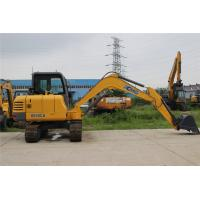 China Rated Power 60kw Mini Wheel Excavator Crawler excavator For Small Industries Reliable wholesale