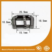 China Pin Buckle Inner 15X10.8MM Gold Black Nickel Buckle / Hardware Accessories wholesale