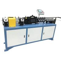 China PLC Control Hollow Pipe Wire Straightener And Cutter 1.12KW Power 50mm - 99m Cutting Length on sale