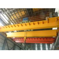 China Workshop Overhead Crane 5 - 15M / Min Lifting Speed With Electric Hoist Trolley wholesale