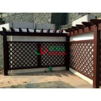 China Prefabricated Garden Wall Pergola Kit , Free Standing Pergola Kits Moisture Resistance wholesale