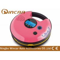 China Automatic Digital Display 12v Portable Air Compressor Digital Tyre Pump With Light wholesale