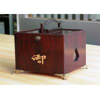China Girls lamination Tea / Exhibition / Jewelry Wood Boxes Packaging Rectangular Shaped wholesale