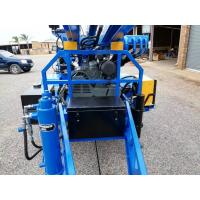 China 89mm drilling hole diameter   Water Well Drilling Rig Trailer mounted wholesale