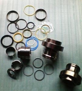 China pc220-1-2-3 seal kit, earthmoving attachment, excavator hydraulic cylinder seal-komatsu wholesale