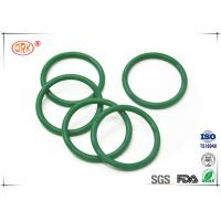 China Fuel Injector / Hydraulic O Ring Silicone Rubber Anti Stain Logo Printed wholesale