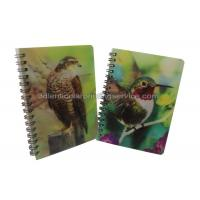 China Custom A4/A5/A6 3D Lenticular Notebook For Children CMYK Offset Printing wholesale