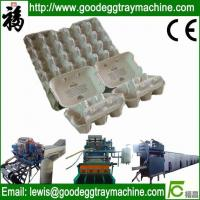 China Pulp egg tray moulding machine on sale