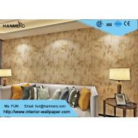 0.53*10m Beige Color Non-woven  Modern Removable Wallpaper For The Home