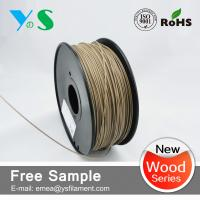 China Dark Brown 3mm Wood 3D Printer Filament Glossy For Reprap 3D Printer wholesale