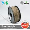 Buy cheap Dark Brown 3mm Wood 3D Printer Filament Glossy For Reprap 3D Printer from wholesalers