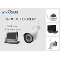 China Network Video Recorder NVR Wireless Security Camera System 20M IR Distance wholesale