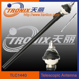 China am fm radio car antenna/ 4 sections white mast car telescopic antenna TLC1440 wholesale
