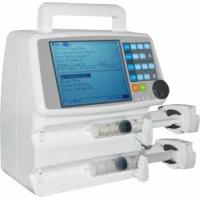 China Portable Clinic Basic electronic infusion pump Double Channel Patient Injection Treatment wholesale