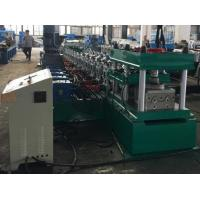 China 2 Waves Guard Rail Roll Forming Machine 37KW + 11KW Gear Box Hydraulic Decoiler wholesale