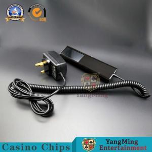 China Casino Chip Counterfeit Money Detector Machine / Gambling UV Light Poker Chips Scanner wholesale