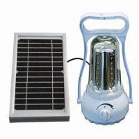 China Multifunctional Portable Solar Lamp/Lighting with 2.8W Power and 8 to 10 Hours Discharging Time wholesale