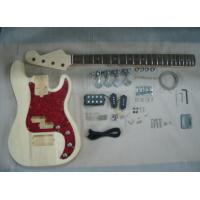 China Four String HB Bass DIY Electric Guitar Kits With Pearl Loid Pickguard AG-BS2 wholesale